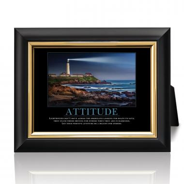 Attitude Lighthouse Desktop Print