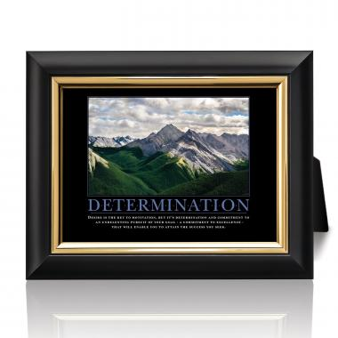 Determination Mountain Desktop Print