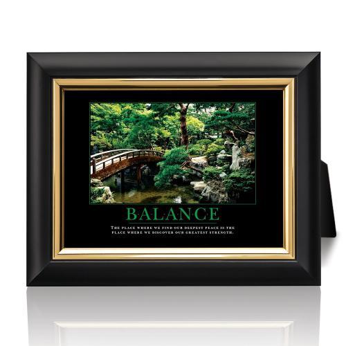 Balance Zen Garden Desktop Print