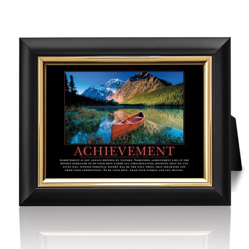 Achievement Canoe Desktop Print