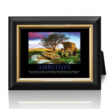 Ambition Desktop Print