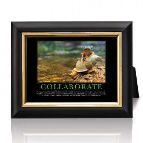 Collaborate Rainforest Desktop Print