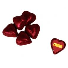 Health & Safety - Chocolate Hearts - Red