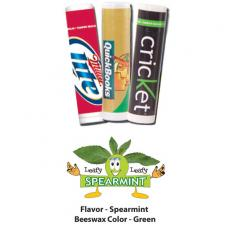 Home & Family - Leafy Leafy Spearmint Lip Balm - All Natural, USA Made