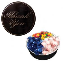 Candy, Food & Gifts - The Royal Tin with Mints, Jelly Beans & Hard Candy-Thank You