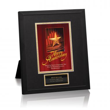 Happy Anniversary Framed Award