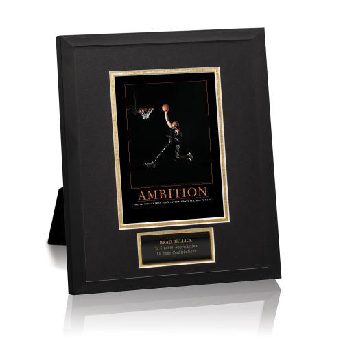 Ambition Basketball Framed Award