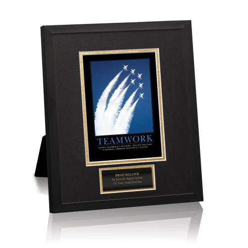 Teamwork Jets Framed Award