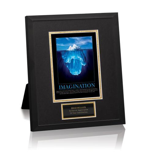 Imagination Iceberg Framed Award