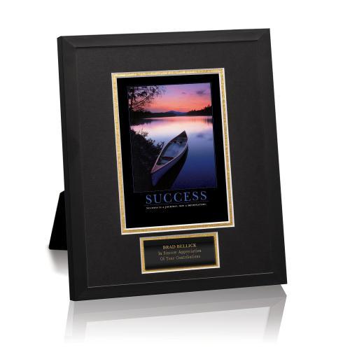Success Canoe Framed Award