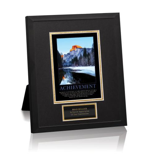 Achievement Mountain Framed Award