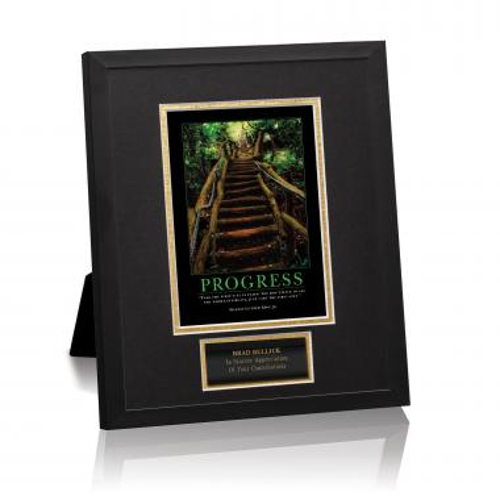 Progress Staircase Framed Award