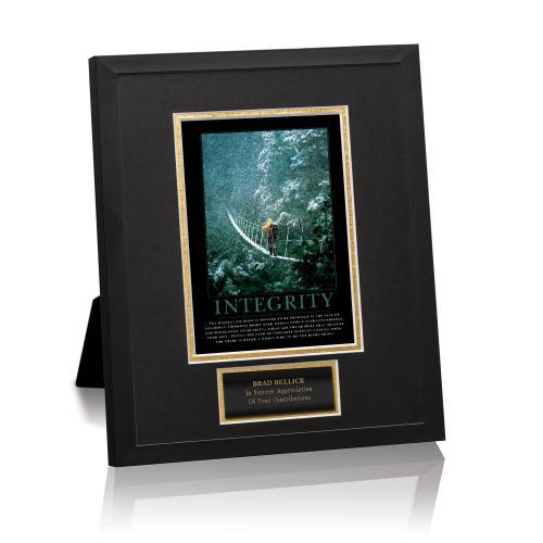 Integrity Bridge Framed Award