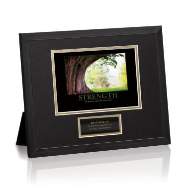 Strength Tree Framed Award