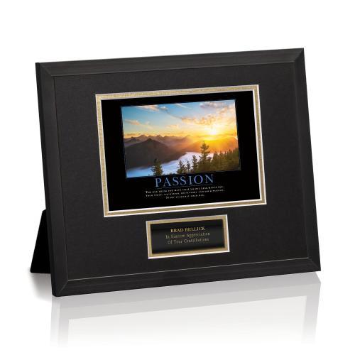 Passion Sunrise Framed Award