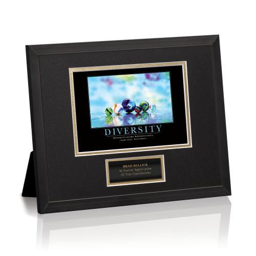 Diversity Marbles Framed Award