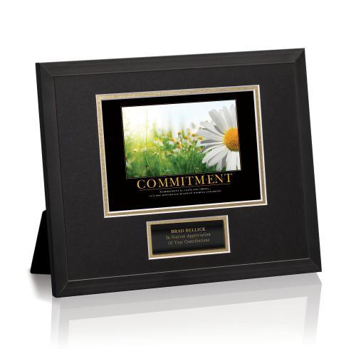 Commitment Daisy Framed Award