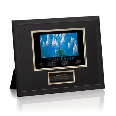 Essence of Leadership Framed Award
