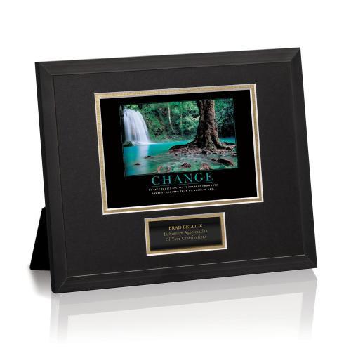 Change Forest Falls Framed Award