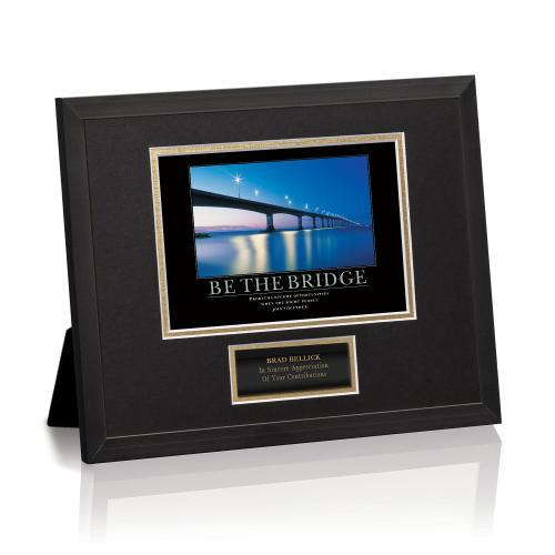 Be The Bridge Framed Award