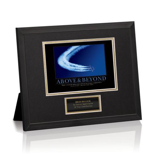 Above & Beyond Jets Framed Award