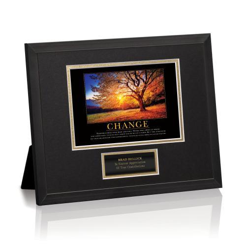 Change Tree Framed Award