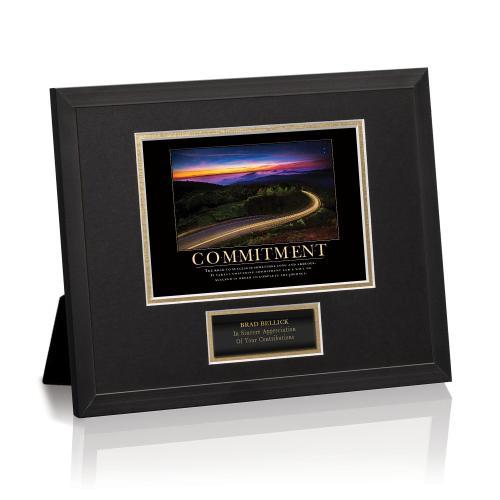 Commitment Highway Framed Award