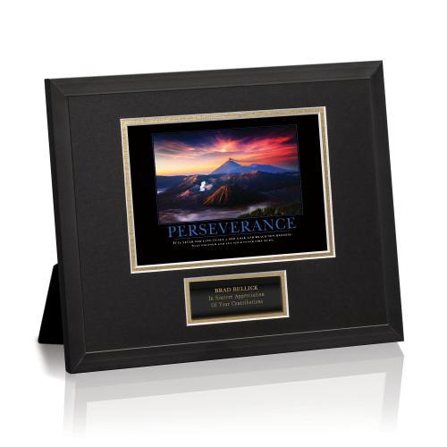 Perseverance Volcano Framed Award