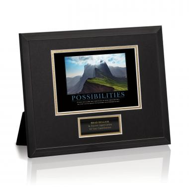 Possibilities Mountain Framed Award