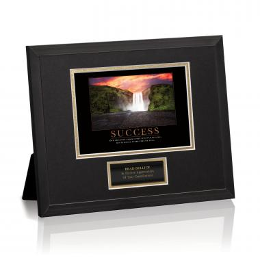 Success Waterfall Framed Award