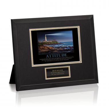 Attitude Lighthouse Framed Award