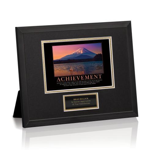 Achievement Sailboat Framed Award