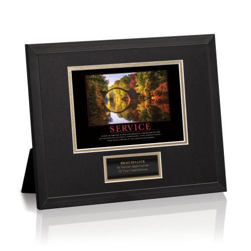 Service Bridge Framed Award