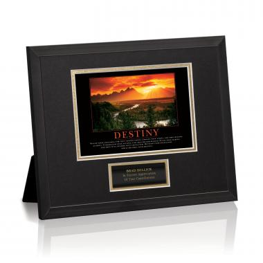 Destiny River Framed Award