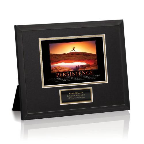 Persistence Runner Framed Award