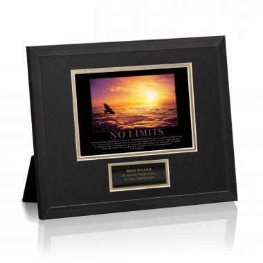 No Limits Framed Award