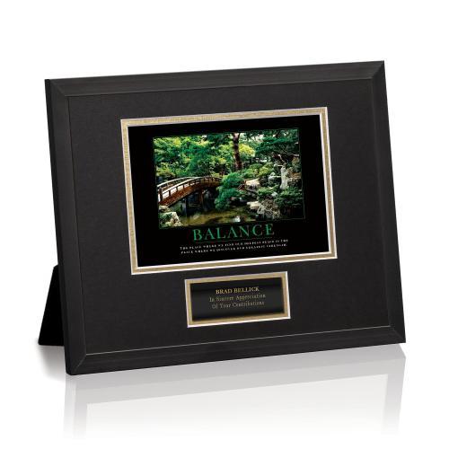 Balance Zen Framed Award