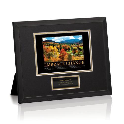 Embrace Change Framed Award