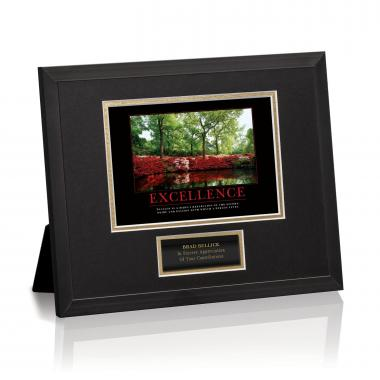 Excellence Azalea Framed Award