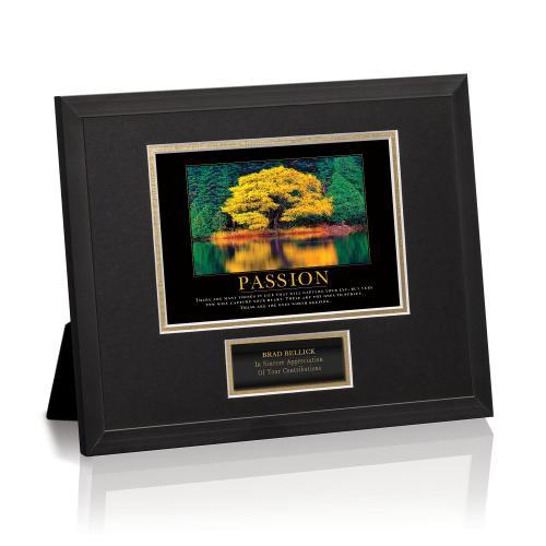 Passion Tree Framed Award