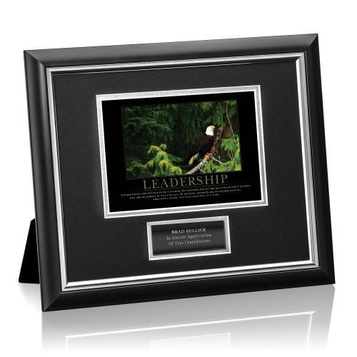 Leadership Eagle Tree Framed Award