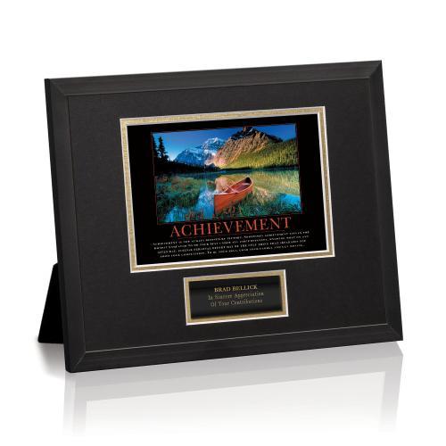 Achievement Canoe Framed Award