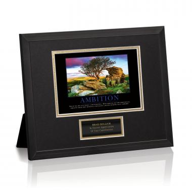 Ambition Framed Award