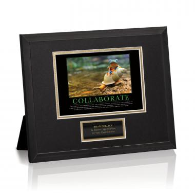 Collaborate Rainforest Framed Award