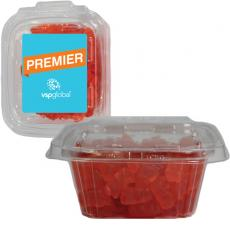 Tradeshow & Event Supplies - Square Safe-T Fresh Container With Candy Gummy Bears