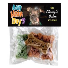Health & Safety - Dog Bone Bag with Treats and Snacks