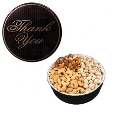 Candy, Food & Gifts - The Royal Tin with Mixed Nuts - Thank You Design