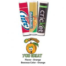 Home & Family - Orange You Great Lip Balm - All Natural, USA Made Lip Balm