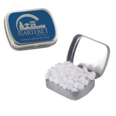 Home & Family - Small Silver Mint Tin with Sugar-Free Mints