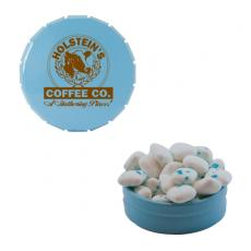 Candy, Food & Gifts - Small Snap Top Mint Tin with Sugar-Free Gum